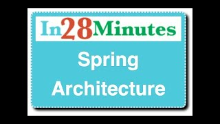 Spring Architecture  - with Modules
