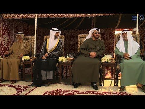 حمدان بن زايد يحضر حفل زفاف سلطان بطي المحيربي