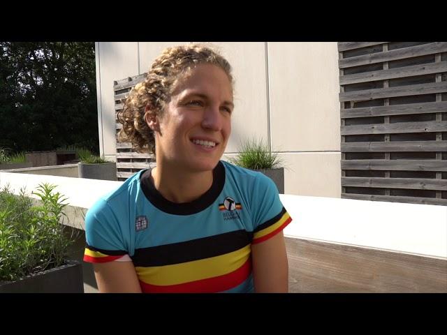 Valerie Barthelemy klaar voor WC Antwerpen 2019