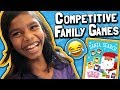 Cool Christmas Board Games 🎲 // Funny Competitive Family with Kids! 😳