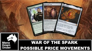 MTG War of the Spark - Possible Price Movements (Mox Amber / The Chain Veil / More)