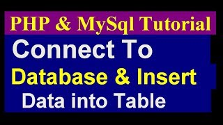 How To Create a Dynamic Website Using Php and Mysql - Php Mysql Project Tutorial- part 2