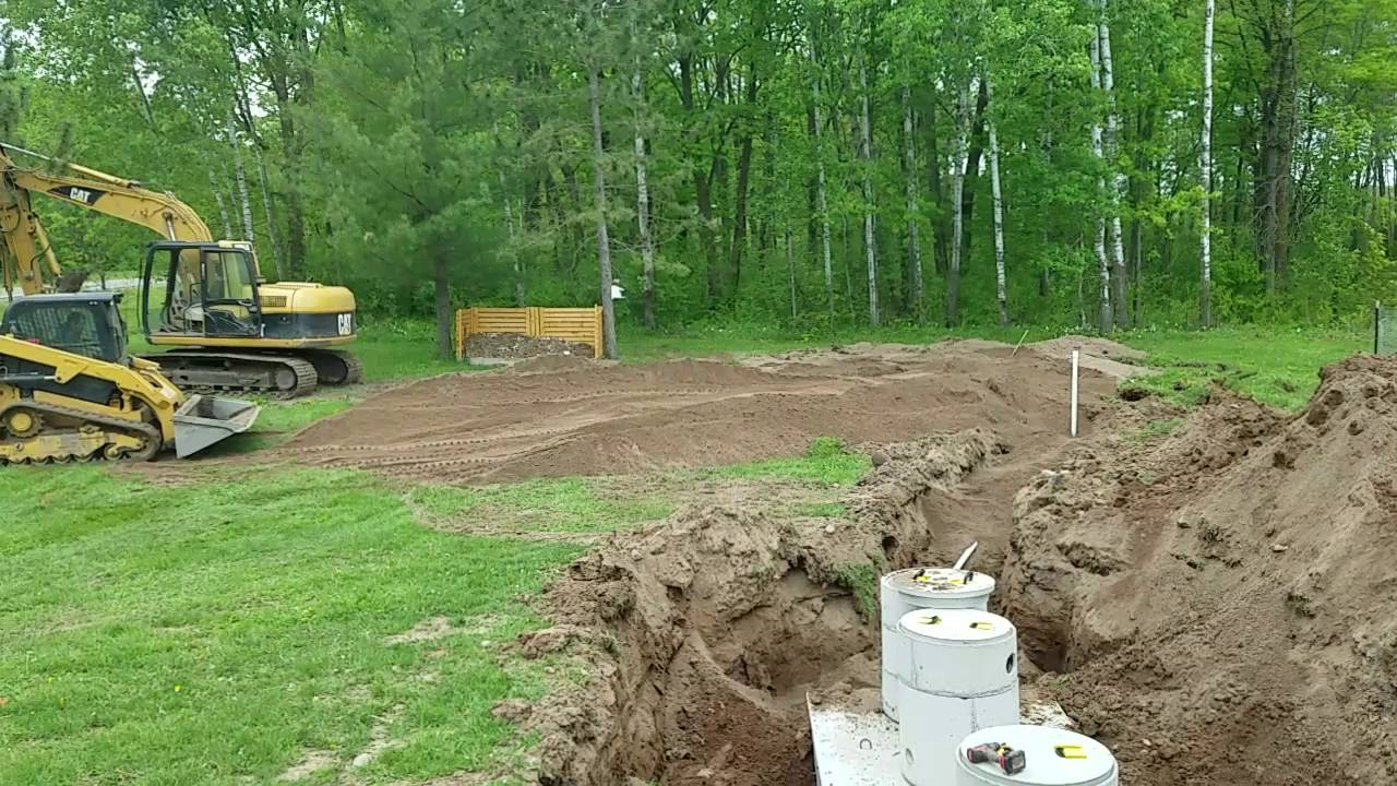 New Septic System Part 10 Starting To Build The Mound