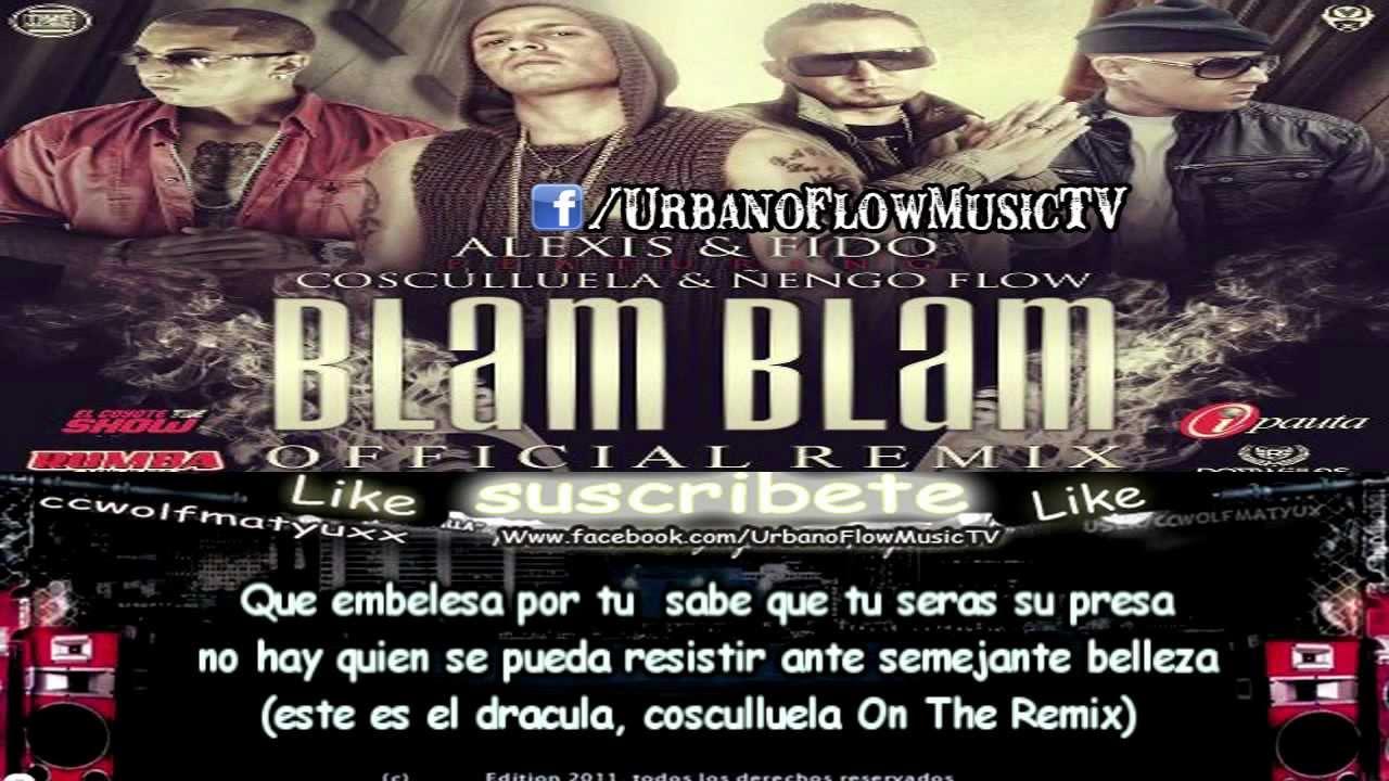 alexis y fido blam blam remix