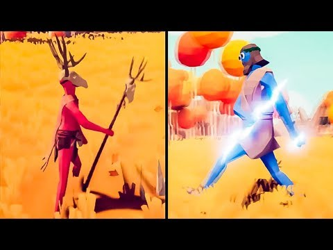 Ancient Gods with Epic Abilities are coming to Totally Accurate Battle Simulator!