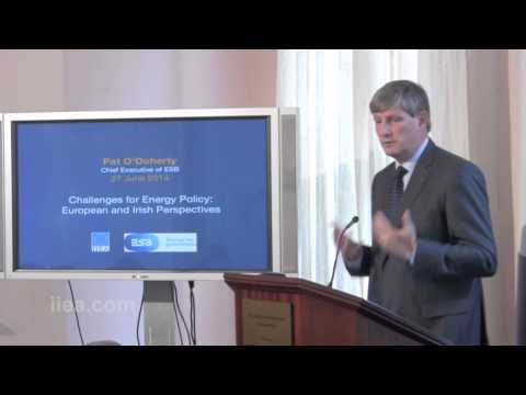 Pat O'Doherty - Challenges for Energy Policy: European and Irish Perspectives - 27 June 2014