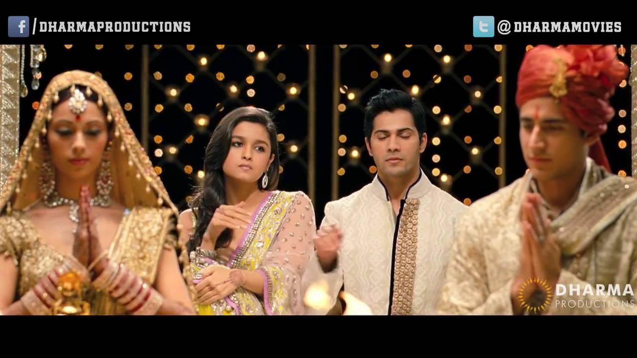 The Wedding Student Of Year Sidharth Malhotra Alia Bhatt U0026 Varun Dhawan You