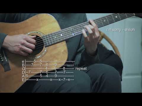How To Play I'm Sorry - Shiloh | Swell - Guitar Tabs