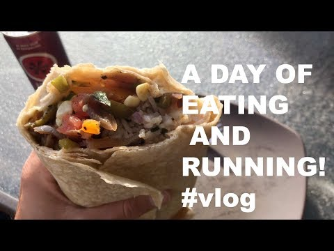 2:18 Boston Marathon Training EP. 2! Sage Canaday Running and Eating VLOG