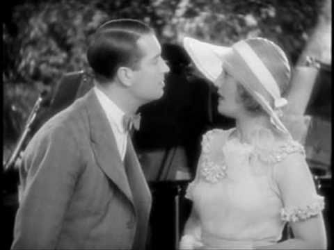 Maurice Chevalier singing Mimi to Jeanette MacDonald