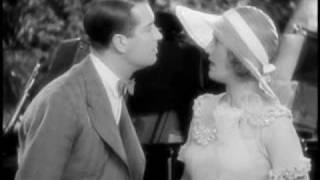 "Maurice Chevalier singing ""Mimi"" to Jeanette MacDonald"