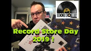 Record Store Day 2019 ! - What Did I Pick Up?