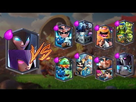 WITCH TEAM VS ALL TEAMS | CLASH ROYALE TEAM CHALLENGE