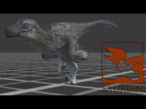 Saurian Dakotaraptor Hatchling Sprint