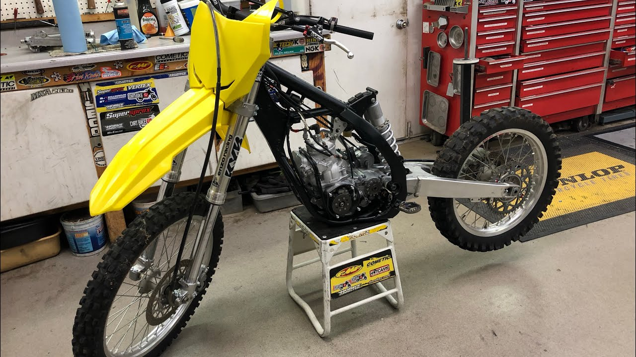 Alex Ray Suzuki RM 250 Two-Stroke Build For Red Bull