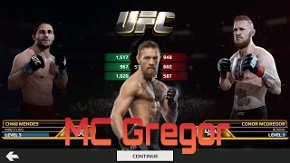 UFC Android -  Chad Mendes Vs Conor Mc Gregor (K.O)