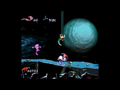 Earthworm Jim (SNES)- For Pete's Sake