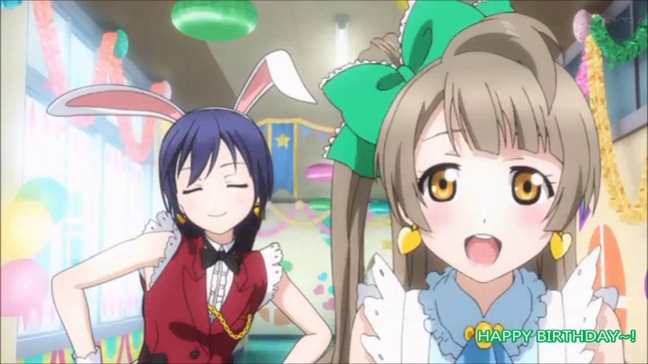 Yui Happy Birthday To You Me Anime Birthday Cake Youtube
