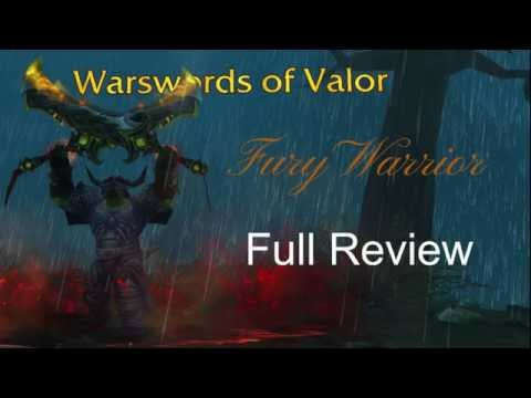 Legion Beta - Fury Warrior - Full PvE review