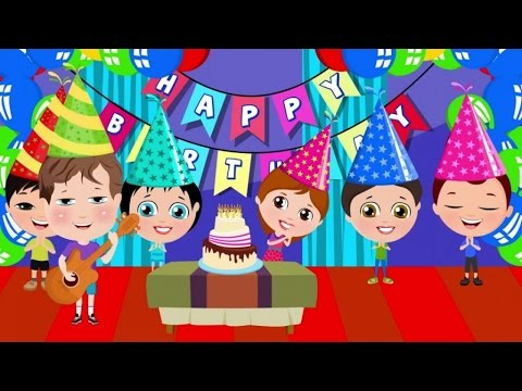 Cumplea os feliz la canci n para celebrar tu cumplea os - Feliz cumpleanos infantil animado ...