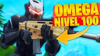 "MI PRIMERA PARTIDA CON ""OMEGA"" *SKIN NIVEL 100* LEGENDARIA de FORTNITE: Battle Royale!"