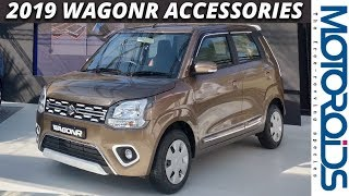 New 2019 WagonR Accessories | Play Time, Robust and Casa Themes | Motoroids