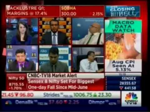 Taher Badshah on CNBC NSE Closing Bell