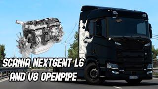 [ETS2 v1.40] Scania Nextgent L6&V8 Openpipe