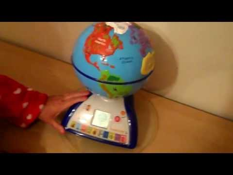 AMAZING OREGON SCIENTIFIC SMART WORLD GLOBE FOR TEACHING GEOGRAPHY
