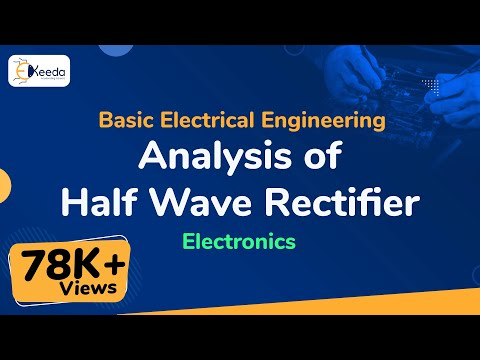 Analysis of Half Wave Rectifier - Electronics - Basic Electrical Engineering - First Year Engg
