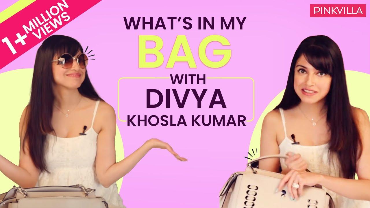 What's in my bag with Divya Khosla Kumar | S02E07 | Fashion | Pinkvilla