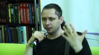 Михаил Елизаров - встреча с читателями в г.Липецке