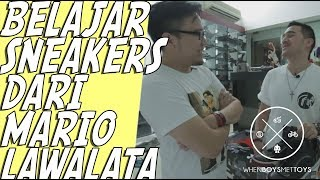Mengenal Sneakers dari Mario Lawalata