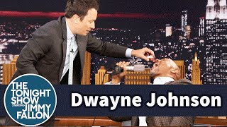 Jimmy tempts Dwayne Johnson to break his more than 20-year-long candy ban with Pop Rocks. Subscribe NOW to The Tonight Show Starring Jimmy Fallon: ...