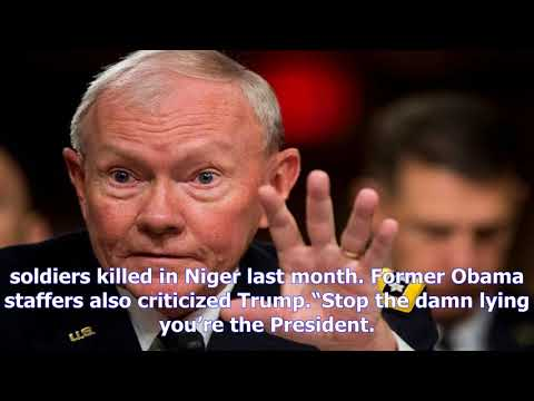 The former chair of the joint chiefs of staff has hit back at trump for a slur about obama- [News 2