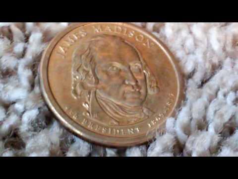 Us presidential dollar series- 3 new dollar coins