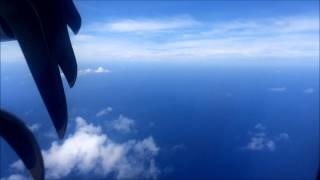 Air Tahiti ATR 72-500 - Raiatea to Bora Bora (Full Flight)