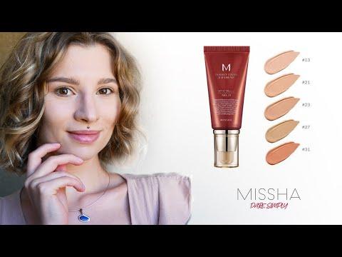 MISSHA M Perfect Cover BB Cream SPF 42 PA+++ Review | Application | Close-Ups | Light Beige