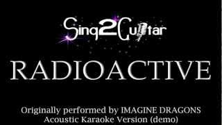 Radioactive Acoustic Karaoke Backing Track Imagine Dragons