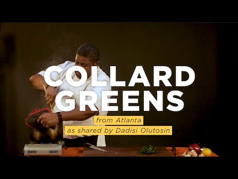 Collard Greens: A Southern Staple Spiced With Caribbean-West African Flavors | NPR Hot Pot