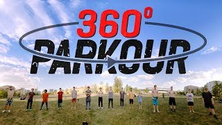 360° PARKOUR BACKFLIP BATTLE - 8K thumbnail
