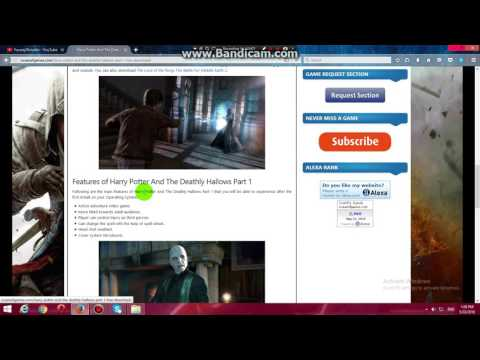 How to download and install harry potter and deathly hallows part 1