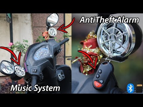 Bluetooth Music System For Motorcycle
