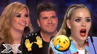 BLIND Contestants Give AMAZING and EMOTIONAL Auditions | X Factor Global