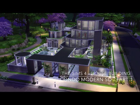 The Sims 4 - House Building - Condo Modern SQ - Part 1