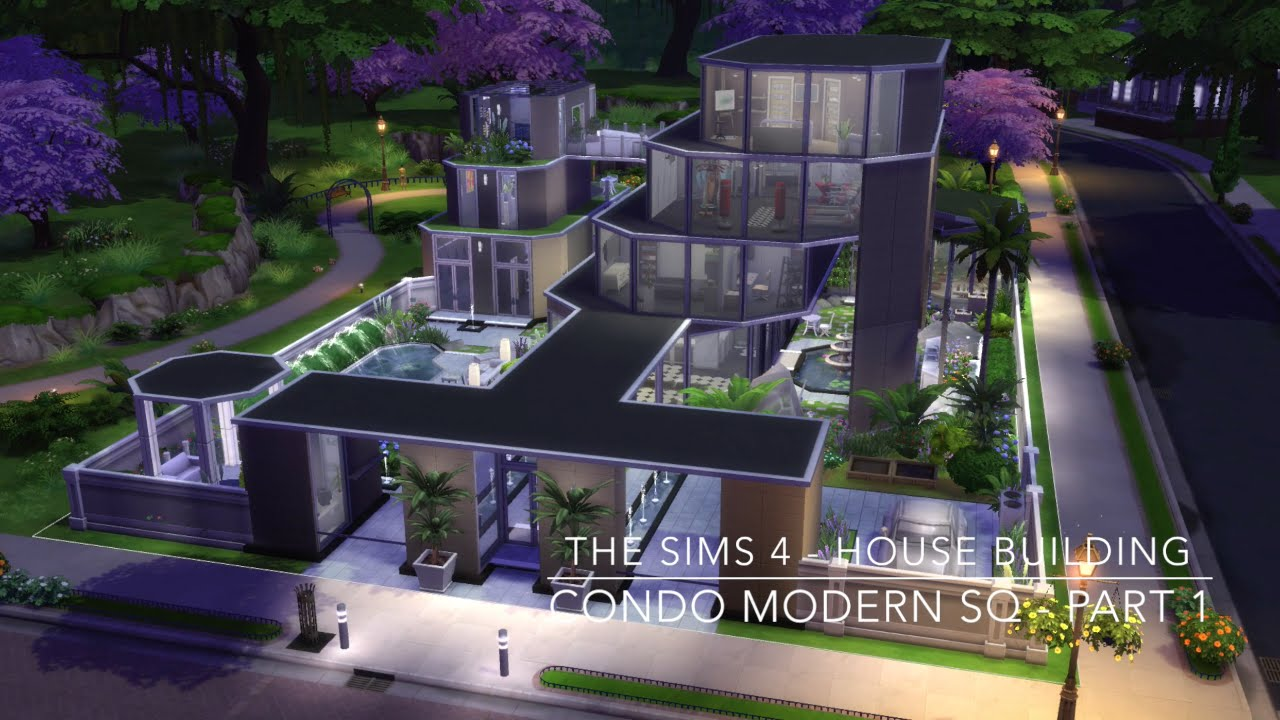 best of sims 4 house building small modernity the sims 4 house building condo modern sq part 1 356