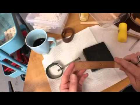 LIVE Frommy jewelry bench. My top 10 for working with leather. #DIY #Metalsmith #KateRichbourg