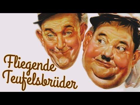 Dick Und Doof - Fliegende Teufelsbrueder (Klassische Komödie in voller Länge, ganzer Film)
