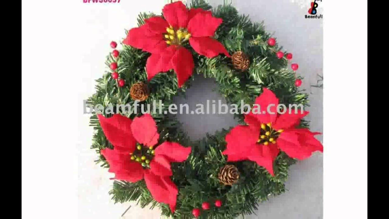 decorated artificial christmas wreaths - How To Decorate Artificial Christmas Wreath