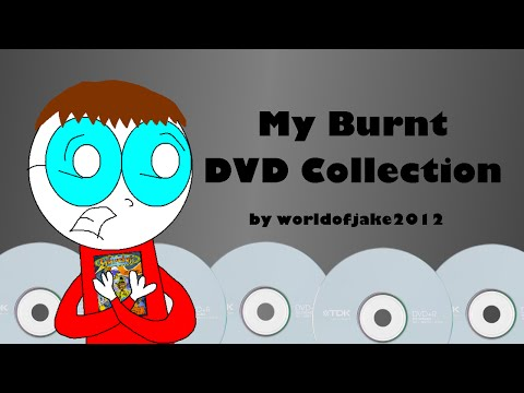 My Burnt DVD Collection (14th October 2015)